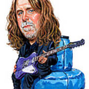 Warren Haynes Art Print