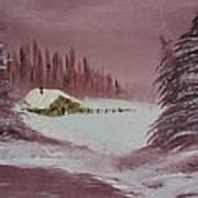 Whose Woods Art Print
