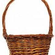 Wicker Basket Number Twelve Art Print