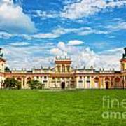 Wilanow Palace In Warsaw Poland Art Print