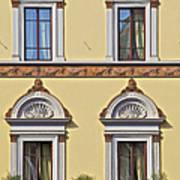 Windows Of Tuscany Art Print