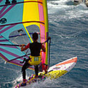 Windsurfing International Competition Art Print