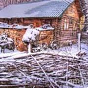 winter Russia Art Print