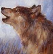 Wolf Whistle Art Print