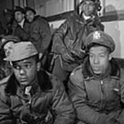 Wwii: Tuskegee Airmen, 1945 Art Print