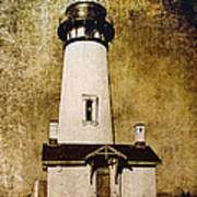 Yaquina Head Lighthouse - Oregon Art Print
