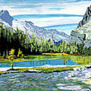 Yoho Valley Art Print by David Skrypnyk