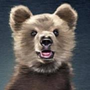 Young Brown Bear Art Print