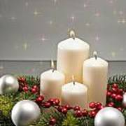 Advent Wreath Art Print