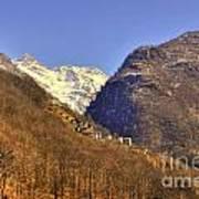 Alpine Village Art Print