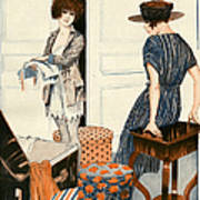 La Vie Parisienne 1919 1910s France Art Print