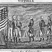 Yorktown: Surrender, 1781 Art Print