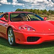 2001 Ferrari 360 Modena Art Print