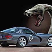 2002 Dodge Viper Art Print