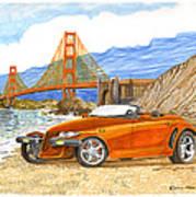 2002 Plymouth Prowler Art Print