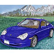 2002 Porsche 996 Art Print