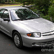 2003 Chevy Cavalier Passager Side Front Art Print