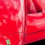 2003 Ferrari Enzo Hood Emblem Art Print