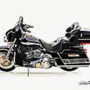 2003 Harley Davidson Art Print