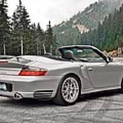 2004 Porsche 911 Turbo Cabriolet Art Print