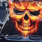 2005 Dodge Magnum Emblem Art Print
