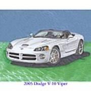 2005 Dodge V-10 Viper Art Print