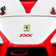 2005 Ferrari Fxx Evoluzione Hood Emblem Art Print