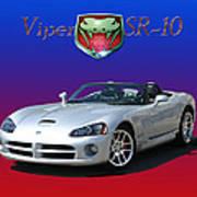 2006 Viper S R 10 Art Print by Jack Pumphrey