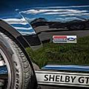 2007 Ford Mustang Shelby Gt500 Painted   Art Print