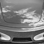 2008 Ferrari F430 Bw Art Print