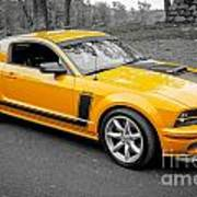 2008 Ford Mustang Rausch Supercharged Art Print