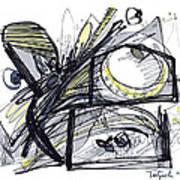 2010 Abstract Drawing 28 Art Print