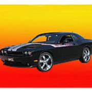 2010 Dodge Challenger Art Print