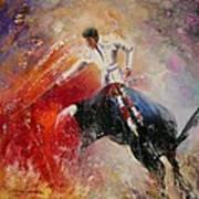 2010 Toro Acrylics 05 Art Print