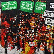 2012 068 New Jersey Art Print