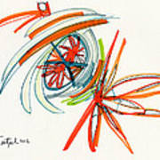 2012 Drawing #24 Art Print