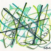 2012 Drawing #34 Art Print