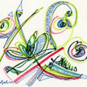 2012 Drawing #36 Art Print