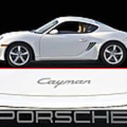 2012 Porsche Cayman R Art Print