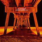 2014 02 06 01 Okalossa Island Pier 0213 Art Print