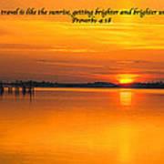 2014 02 25 03 Proverbs 4 18 Art Print