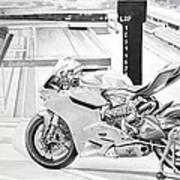 2014 1199 Ducati Panigale Art Print