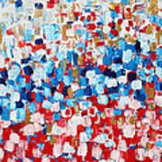 2014 31 Russian Flag Art Print