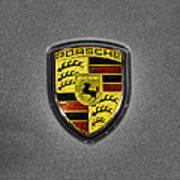 2014 Porsche Cayman S  Logo Art Print
