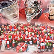2014 Team Canada Art Print