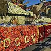 2015 Cal Poly Rose Parade Float 15rp052 Art Print