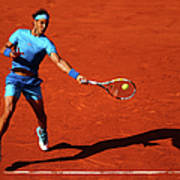 2015 French Open - Day Eleven Art Print