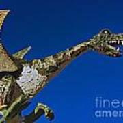 2015 Rose Parade Float Showing A Dragon 15rp039 Art Print