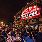2016 World Series  - Chicago Cubs V Art Print