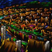 204 Rainbow Lane - The American Dream Art Print